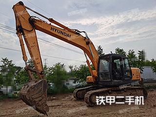 河南-郑州市二手现代R215-7C挖掘机实拍照片