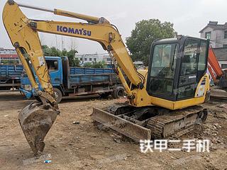 江苏-镇江市二手小松PC56-7挖掘机实拍照片