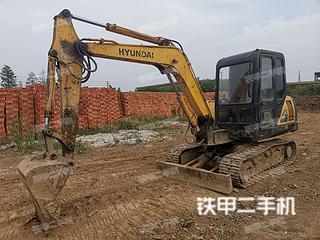 江苏-镇江市二手现代R55-7挖掘机实拍照片