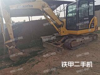陕西-渭南市二手小松PC56-7挖掘机实拍照片