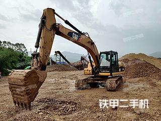 卡特彼勒320DL液压挖掘机实拍图片