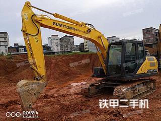 广西-南宁市二手住友SH130-6挖掘机实拍照片