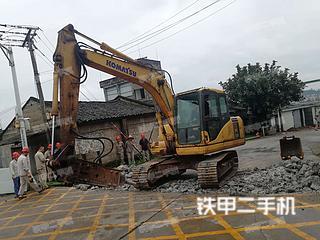 小松PC110-7挖掘機實拍圖片