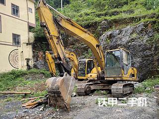 中聯重科ZE150挖掘機實拍圖片