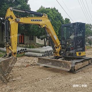 洋馬VIO50-6B挖掘機實拍圖片