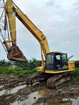 广东-广州市二手小松PC200-6E挖掘机实拍照片