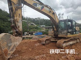广东-深圳市二手卡特彼勒320D液压挖掘机实拍照片