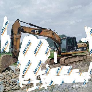 海南卡特彼勒320D液壓挖掘機實拍圖片
