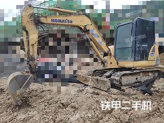 安徽-宿州市二手小松PC56-7挖掘机实拍照片