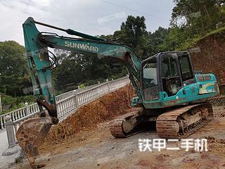 湖北-恩施市二手山河智能SWE150LC挖掘机实拍照片