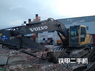 安徽-蚌埠市二手沃尔沃EC210B挖掘机实拍照片