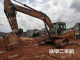 湖南-邵阳市二手加藤HD820III挖掘机实拍照片