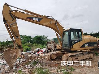 海南卡特彼勒320C挖掘機實拍圖片