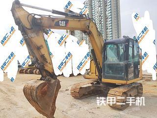 江西-南昌市二手卡特彼勒307E液压挖掘机实拍照片