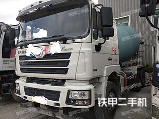 陜汽SX5255GJBJR424攪拌運輸車實拍圖片