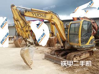 广西-南宁市二手玉柴YC60-8挖掘机实拍照片