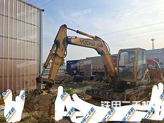 山东-青岛市二手玉柴YC60-8挖掘机实拍照片