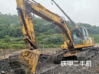 湖南-怀化市二手小松PC210LC-8挖掘机实拍照片