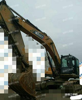 贵州-毕节市二手三一重工SY265C挖掘机实拍照片