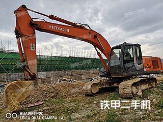 日立ZX210LC-3挖掘機實拍圖片