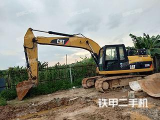 广东-广州市二手卡特彼勒320D液压挖掘机实拍照片