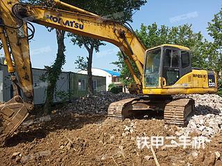 青島小松PC200-7挖掘機實拍圖片