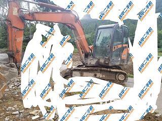 四川-达州市二手斗山DH60-7挖掘机实拍照片