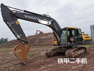 四川-广安市二手沃尔沃EC250D挖掘机实拍照片
