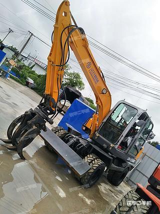 二手灵升机械 LS90-8 挖掘机转让出售