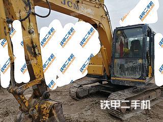 陕西-西安市二手山重建机JCM908C挖掘机实拍照片