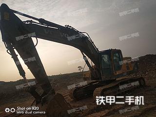 河南-平顶山市二手沃尔沃EC360BLC挖掘机实拍照片