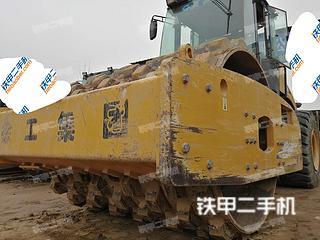 陕西-西安市二手徐工XS202J压路机实拍照片