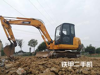四川-绵阳市二手雷沃重工FR60挖掘机实拍照片