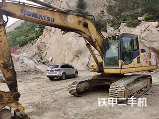 山东-威海市二手小松PC210LC-8挖掘机实拍照片