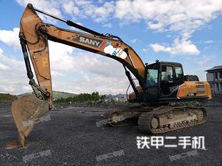 贵州-黔南布依族苗族自治州二手三一重工SY265C挖掘机实拍照片