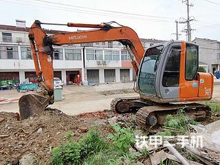 淮安日立ZX70挖掘机实拍图片