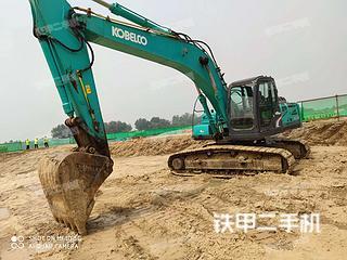河北-廊坊市二手神钢SK250-8挖掘机实拍照片