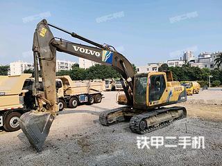 沃爾沃EC210BLC挖掘機實拍圖片