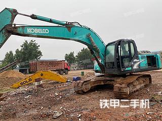 山东-潍坊市二手神钢SK260LC-8挖掘机实拍照片