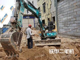 山西-吕梁市二手久保田U30-5挖掘机实拍照片