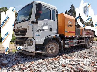 三一重工SYM5151THBE-11020C-8車載泵實拍圖片