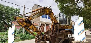 湖北-仙桃市二手雷沃重工FR60-7挖掘机实拍照片