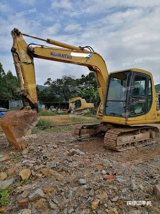 肇慶小松PC60-7挖掘機實拍圖片