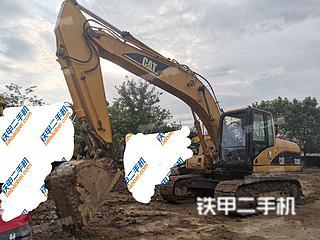广东-清远市二手卡特彼勒320C挖掘机实拍照片