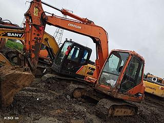 二手斗山挖掘机左前45实拍图161