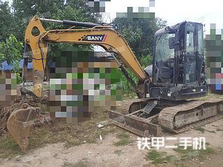 安徽-宿州市二手三一重工SY55U挖掘机实拍照片