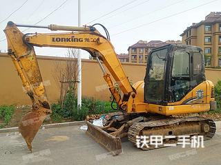 山东-日照市二手龙工LG6085挖掘机实拍照片