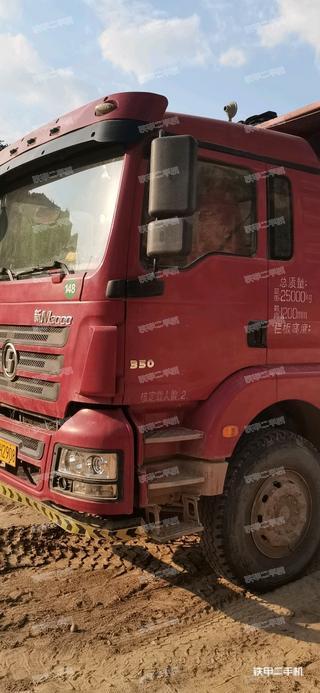 二手陕汽重卡 6X2 工程自卸车转让出售