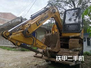 河池柳工CLG9075E挖掘机实拍图片