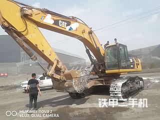 宁夏-银川市二手卡特彼勒340D2L挖掘机实拍照片